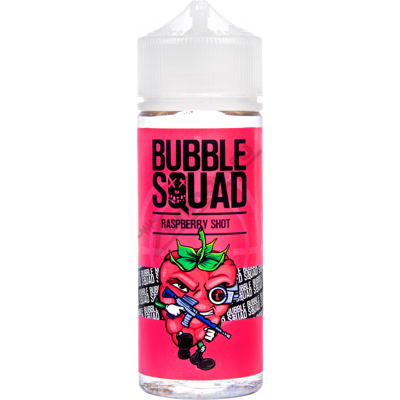 BUBBLE SQUAD - Raspberry Shot 120мл